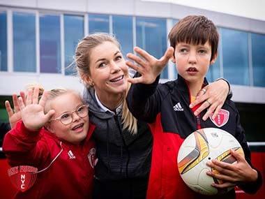 Anouk Hoogendijk G voetbal